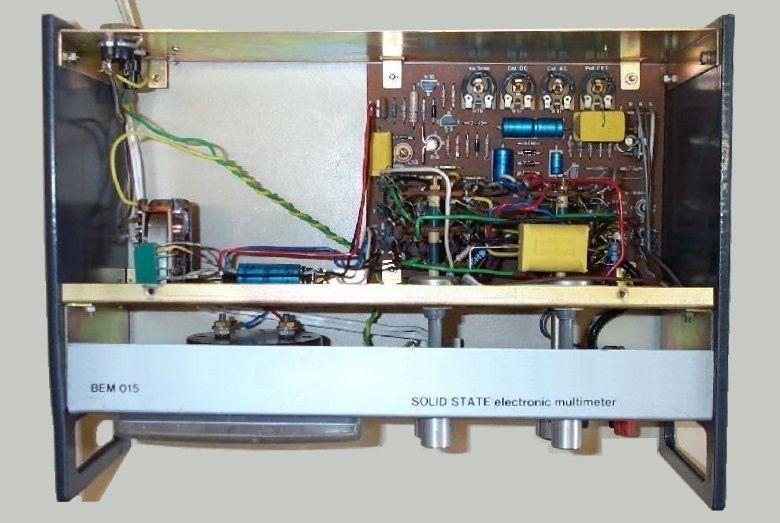 Bem015 voltmetre
