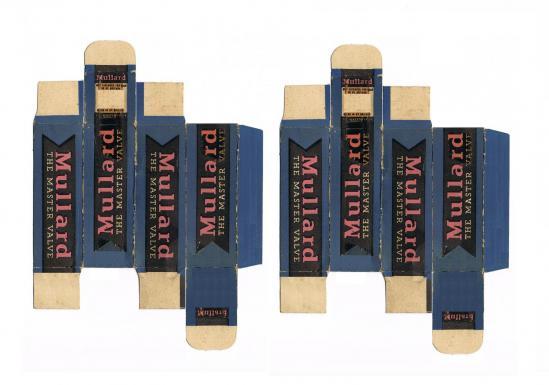 Mullard carton tube