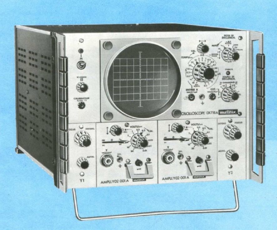 Ox 715a metrix oscilloscope