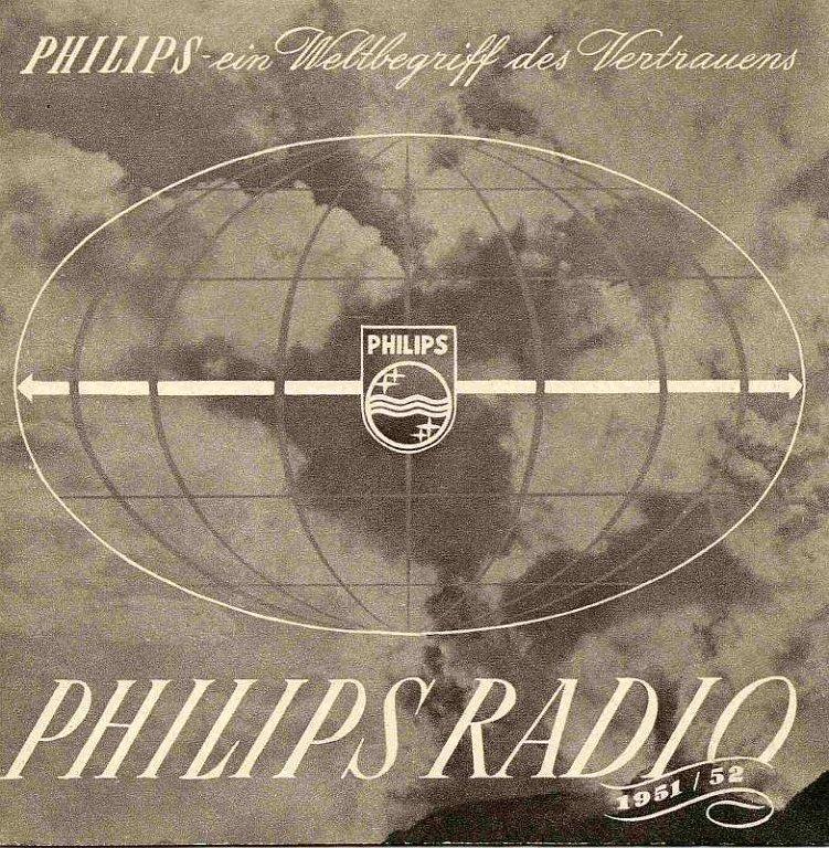 Philips werbung 1951 52