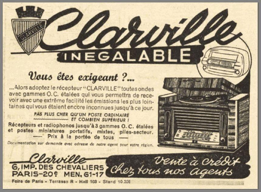 Pub clarville radio