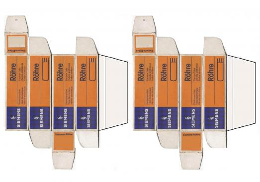 Siemens carton 1 tube