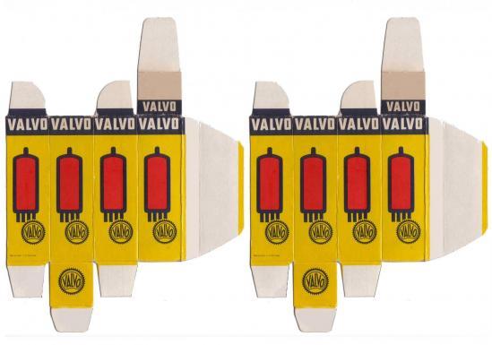 Valvo carton tube
